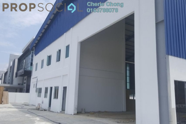 For Rent Factory at Tasek Industrial Estate, Ipoh Freehold Semi Furnished 0R/0B 7.5k