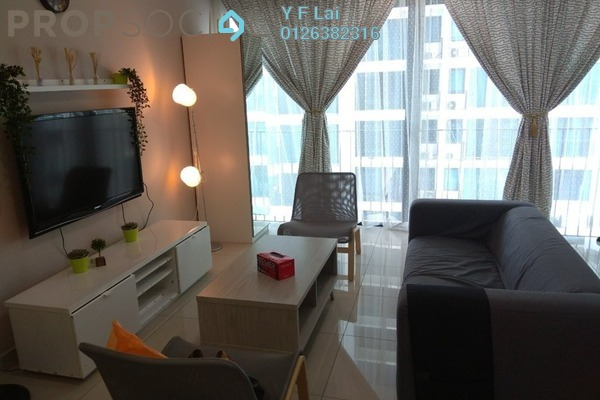 For Rent Condominium at Trefoil, Setia Alam Freehold Fully Furnished 2R/2B 2k