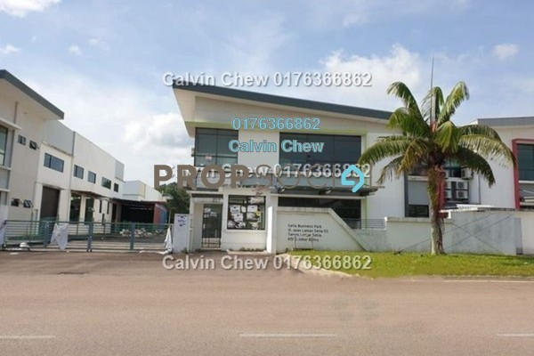 Factory For Sale in Setia Business Park, Johor Bahru Freehold Unfurnished 0R/0B 1.54m