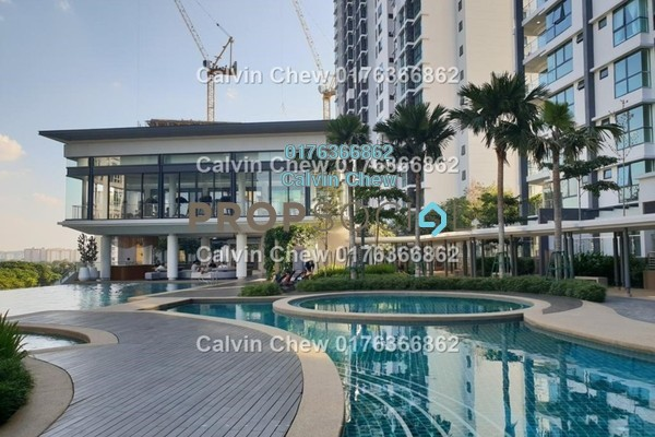 Serviced Residence For Sale in V Residence 2 @ Sunway Velocity, Cheras Freehold Unfurnished 2R/0B 891k