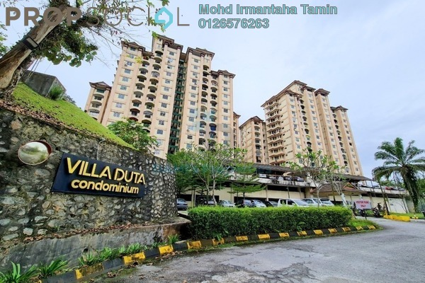 Condominium For Sale in Villa Duta, Bukit Antarabangsa Leasehold unfurnished 3R/2B 270k