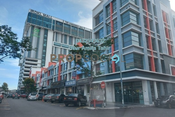 For Rent Shop at Section 16, Shah Alam Freehold Unfurnished 0R/0B 7k