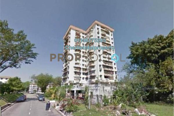 Condominium For Rent in Pandan Jaya H5, Pandan Jaya Freehold semi_furnished 3R/2B 1.2k