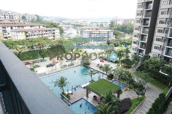 For Rent Condominium at Seasons Garden Residences, Wangsa Maju Freehold Semi Furnished 3R/2B 1.4k
