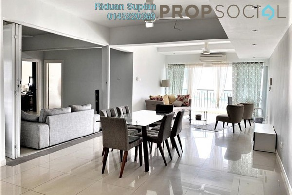 Condominium For Sale in Ampang Putra Residency, Ampang Freehold Fully Furnished 4R/4B 600k
