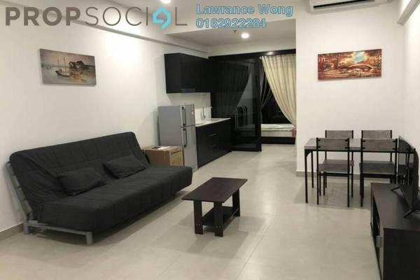 For Rent Condominium at Flexus Signature Suites, Segambut Freehold Fully Furnished 1R/1B 1.45k