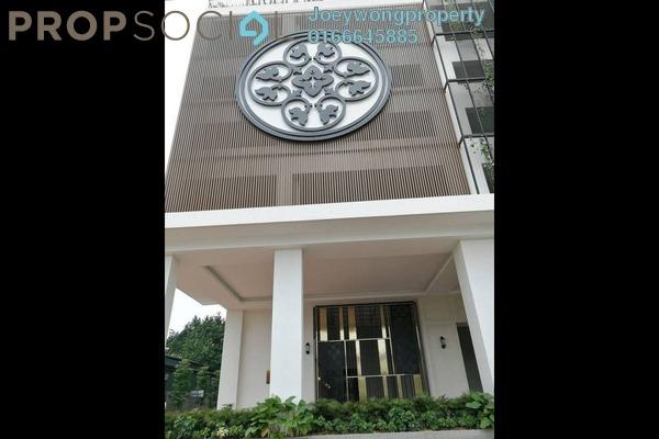 For Rent Condominium at Tuan Residency, Jalan Ipoh Freehold Semi Furnished 3R/2B 1.4k