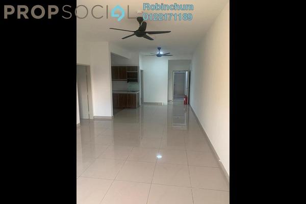 For Rent Condominium at Camellia Residences, Bandar Sungai Long Freehold Semi Furnished 3R/2B 1k
