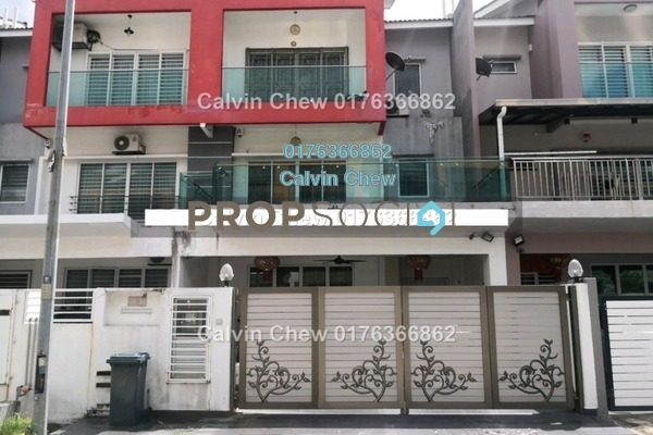 Terrace For Sale in Taman Suria Tropika, Bandar Putra Permai Freehold Unfurnished 4R/4B 546k