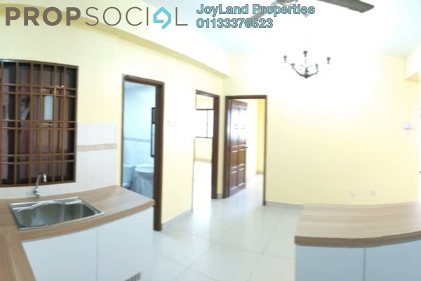 Apartment For Rent in Pelangi Astana, Bandar Utama Freehold Semi Furnished 3R/2B 1.5k