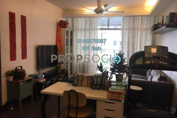 For Sale Condominium at Midfields 2, Sungai Besi Freehold Fully Furnished 3R/2B 548k