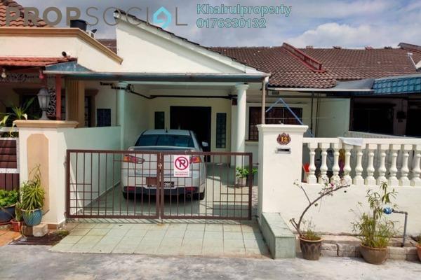 Terrace For Rent in Taman Sri Melor, Kajang Freehold Semi Furnished 3R/2B 1.2k