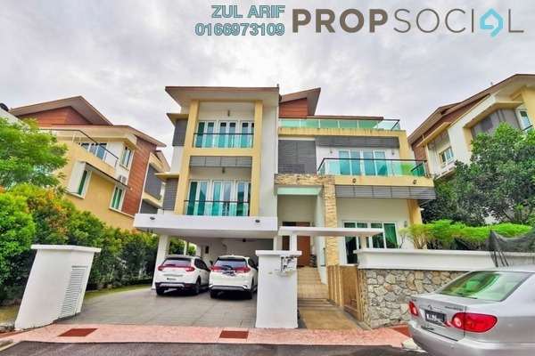 For Sale Terrace at Bayu Kemensah, Kemensah Freehold Fully Furnished 6R/6B 2.3m