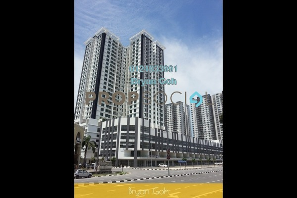 Condominium For Rent in The Promenade, Bayan Lepas Freehold semi_furnished 2R/2B 1.35k