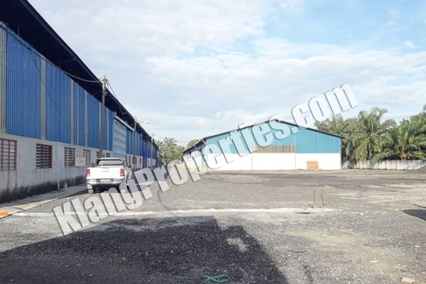 For Sale Factory at Jenjarom, Selangor Freehold Unfurnished 0R/0B 36m