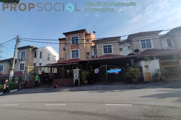 For Sale Terrace at Taman Langat Ceria, Cheras Freehold Unfurnished 4R/3B 620k