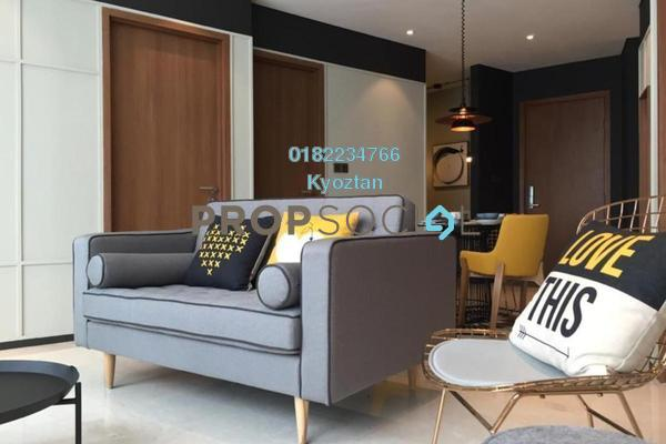 For Rent Serviced Residence at Vortex Suites & Residences, KLCC Freehold Fully Furnished 2R/2B 2.3k