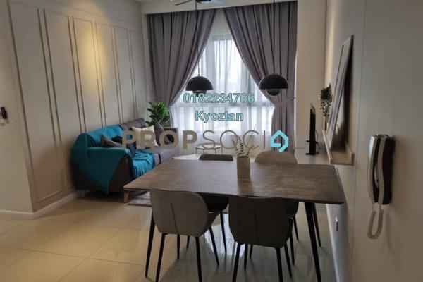 For Rent Condominium at Novum, Bangsar South Freehold Fully Furnished 2R/2B 3k