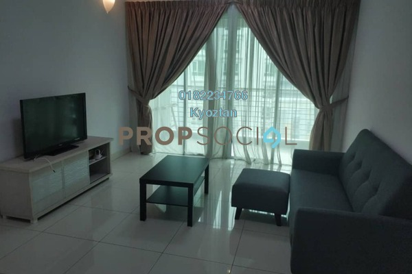 For Rent Condominium at V Residence 3 @ Sunway Velocity, Cheras Freehold Semi Furnished 3R/3B 4.2k