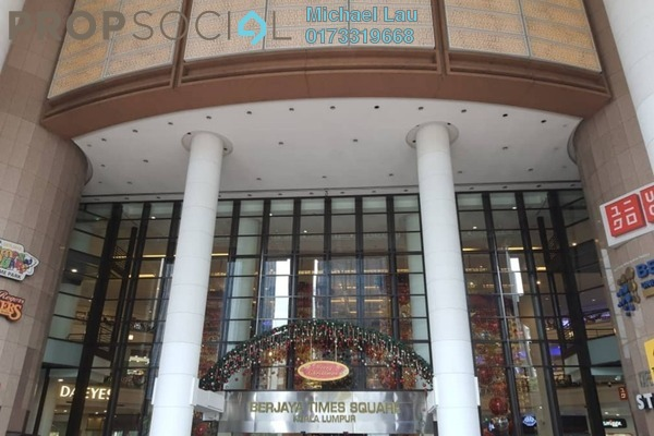 For Rent Shop at Berjaya Times Square, Bukit Bintang Freehold Unfurnished 0R/0B 4.5k