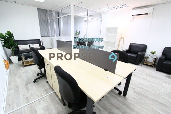 For Rent Office at Leisure Commerce Square, Bandar Sunway Freehold Fully Furnished 0R/0B 1.6k