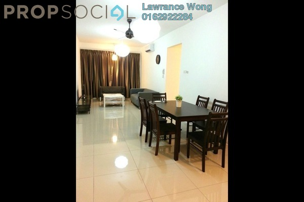 For Rent Apartment at Kiara Residence, Bukit Jalil Freehold Fully Furnished 3R/2B 2k