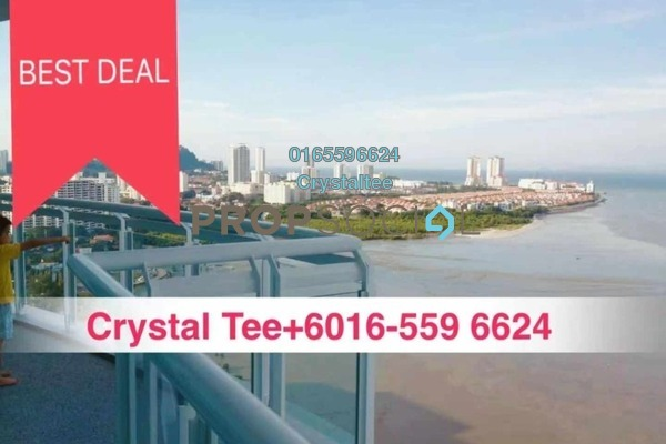 For Sale Condominium at Gurney Paragon, Gurney Drive Freehold Semi Furnished 3R/4B 3.4m