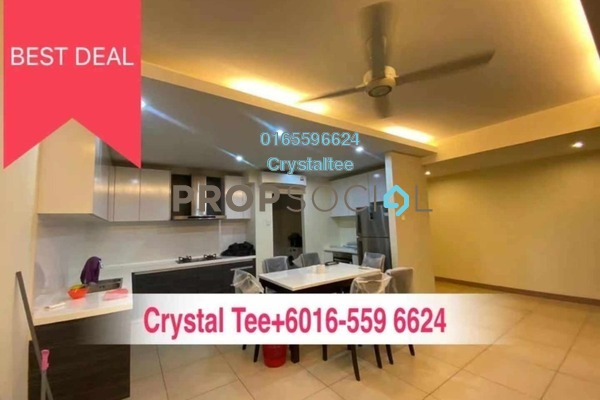 For Rent Condominium at Pearl Regency, Gelugor Freehold Semi Furnished 2R/2B 1.9k