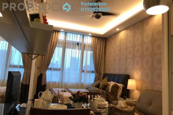 For Rent SoHo/Studio at Centrestage, Petaling Jaya Freehold Fully Furnished 0R/1B 1.4k