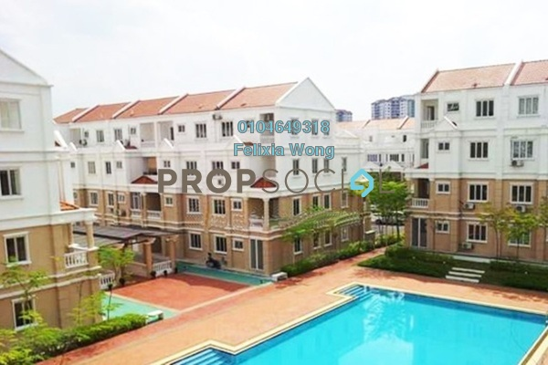 For Rent Townhouse at Sommerset Close, Bandar Sri Permaisuri Freehold Fully Furnished 3R/4B 2.8k
