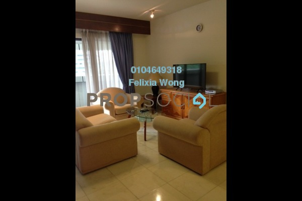 Condominium For Rent in UBN Apartment, KLCC Freehold Fully Furnished 1R/1B 2k