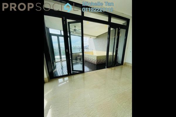 For Rent Condominium at Gallery U-Thant, Ampang Hilir Freehold Semi Furnished 4R/4B 10k