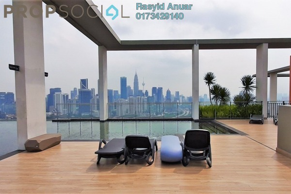 Condominium For Rent in The Haute, Keramat Freehold Fully Furnished 3R/2B 2.5k