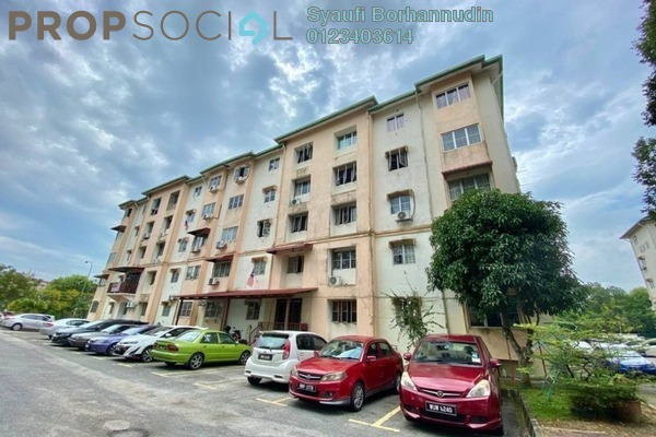 For Sale Apartment at Section U5, Shah Alam Leasehold Unfurnished 3R/2B 270k