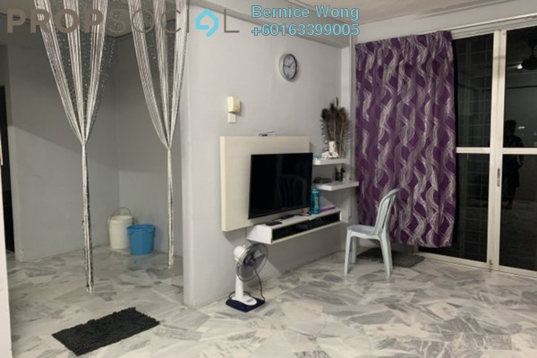 For Sale Apartment at Pinang Court 1, Jelutong Freehold Semi Furnished 3R/2B 298k