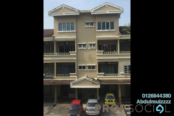 Townhouse For Sale in Sri Mahligai, Shah Alam Freehold Semi Furnished 5R/4B 485k