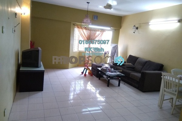 For Sale Condominium at Regensi, Klang Freehold Semi Furnished 2R/1B 235k