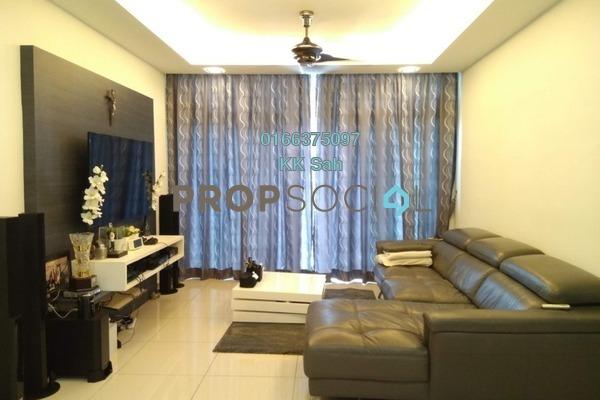 For Sale Condominium at Midfields Square, Sungai Besi Leasehold Semi Furnished 3R/2B 500k