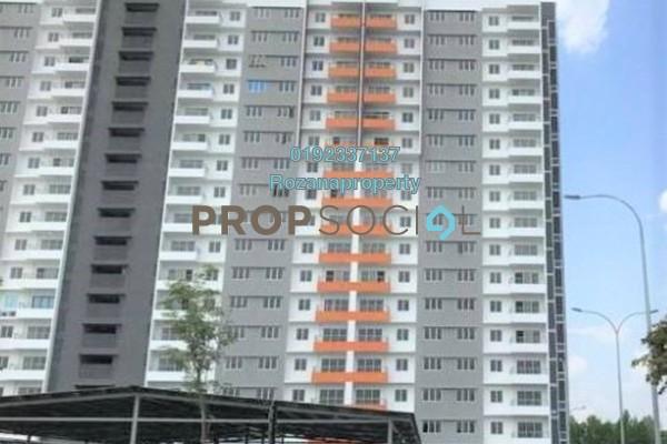 For Rent Apartment at Pangsapuri Gapura Bayu, Kajang Freehold Unfurnished 3R/2B 900translationmissing:en.pricing.unit