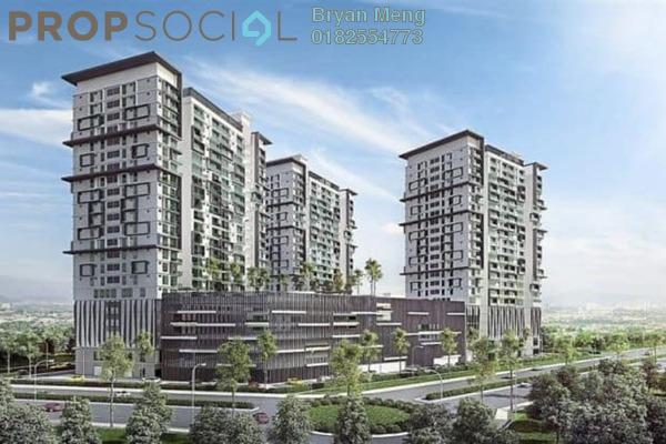 Condominium For Sale in Maple Residences, Bandar Bestari Freehold Fully Furnished 3R/2B 380k