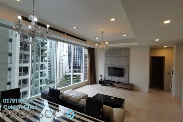 For Rent Apartment at Vipod Suites, KLCC Freehold Fully Furnished 3R/2B 4k