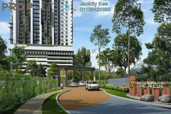 For Sale Condominium at The Nest 2, Old Klang Road Freehold Semi Furnished 3R/2B 420k