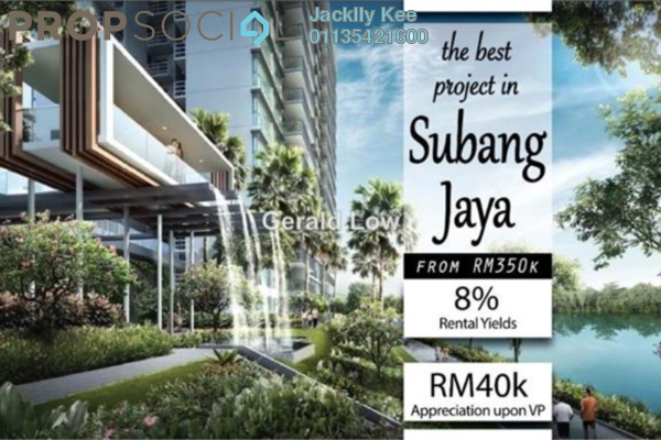 For Sale Condominium at Dorsett Place, Subang Jaya Freehold Fully Furnished 1R/1B 330k