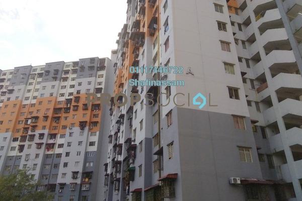 For Rent Apartment at Sri Penara, Bandar Sri Permaisuri Freehold Unfurnished 3R/2B 850translationmissing:en.pricing.unit