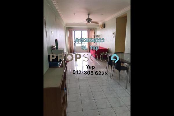 Condominium For Sale in Bayu Tasik 1, Bandar Sri Permaisuri Freehold Semi Furnished 2R/2B 340k