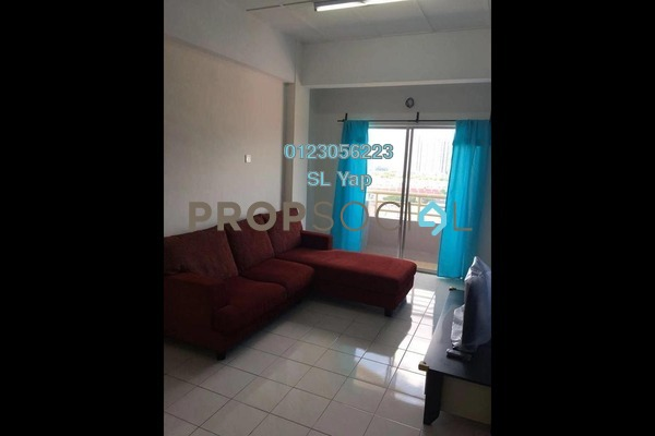For Rent Apartment at Jalil Damai, Bukit Jalil Freehold Fully Furnished 3R/2B 1.5k