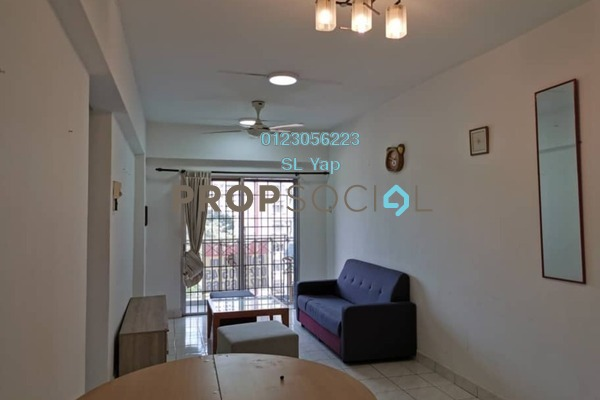 Apartment For Sale in Arena Green, Bukit Jalil Freehold Semi Furnished 2R/2B 320k