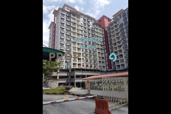 Apartment For Sale in Arena Green, Bukit Jalil Freehold Unfurnished 2R/1B 275k