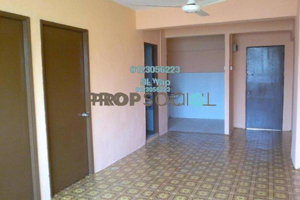 Apartment For Sale in Taman Midah Apartment, Cheras Freehold Unfurnished 2R/1B 180k