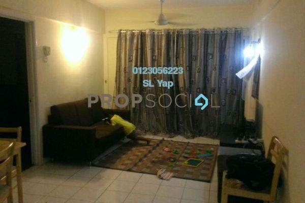 Apartment For Sale in Arena Green, Bukit Jalil Freehold Fully Furnished 2R/1B 270k